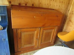 Antique Primitive Desk 51 Across 48 Tall 16 Deep Desk Comes Out 15