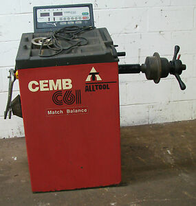 Cemb All Tool C61 Computer Wheel Balancer Machine 313