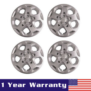 4x17 Wheel Covers Rim Hub Caps 5 Spoke Full Hubs For 2010 2011 2012 Ford Fusion