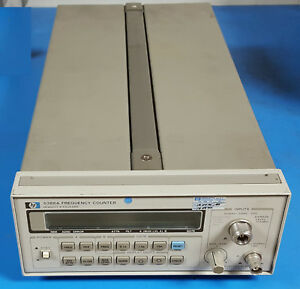 Hp 5386a Frequency Counter 10hz To 3ghz In Working Condition