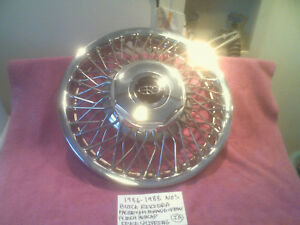 1986 1988 Buick Riviera Nos Brand New Gm Wire Spoke Hubcap 14 Inch Free Shipping