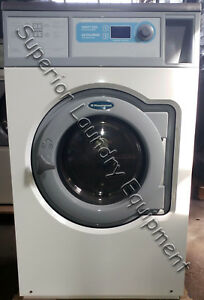 Wascomat W625cc Washer White 30lb Manual Start 220v 1ph Reconditioned