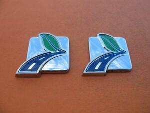 Ford Fusion Escape Hybrid Rear Side Emblem Logo Badge Sign Symbol Oem Used Set