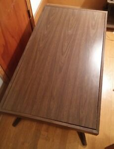 000 Vintage Castro Convertible Coffee Dining Table Mid Century