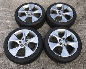 2007 2018 Toyota 2014 Camry Se Charcoal Gun Metal 18 Wheels Tires Genuine Oem