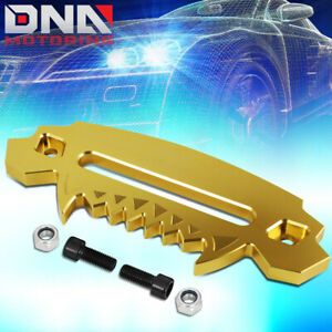 10 aluminum Devil Skull Hawse Fairlead For Synthetic Winch Rope Guide 4x4 Gold