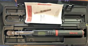 Snap On Atech2fr100b 3 8 Drive Techangle Flex head Torque Wrench 5 100 Ft lb