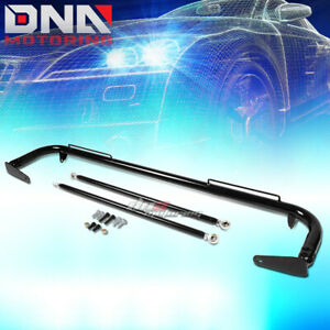 49 Stainless Racing Protection Safety Seat Belt Chassis Harness Bar Rod Black