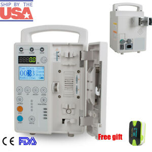 Medical Infusion Pump Iv Fluid Infusion With Audible Alarm For Human And Vet A