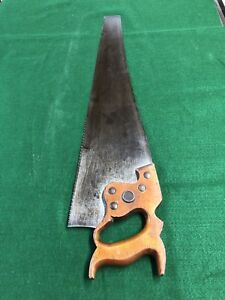 Antique Henry Disston Saw