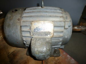 Us Electrical Motors 10 Hp 3 Phase 1740 Rpm Motor R 1192 01 169
