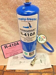R410a Refrigerant 28 Oz Color Coded Ez Read Gauge Hose Includes Instructions