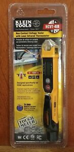 Klein Tools Ncvt 4ir Non contact Voltage Tester W Infrared Thermometer Hvac