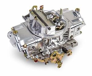 Holley 0 4777sa 650 Cfm Aluminum Double Pumper Carburetor