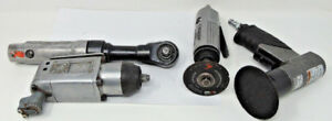 Napa 3 Mini Polisher And Chicago Pneumatic Tools Drivers And A Cutoff Tool