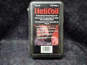 New Helicoil 7 16 20 Professional Thread Repair Kit Stainless Part 5402 7 Nos