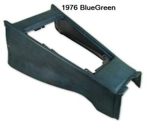 1972 1976 Corvette Shift Console Housing New In Factory Colors