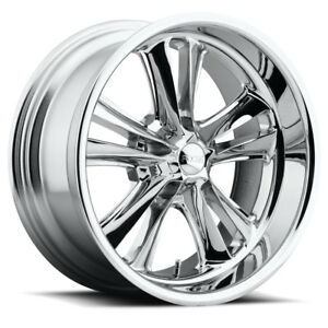 Foose Knuckle F097 17x8 1 Chrome Wheel 5x120 7 5x4 75 Qty 4