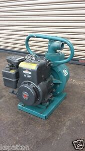 Portable Marlow Water Pump With 5 Hp Briggs Gas Engine