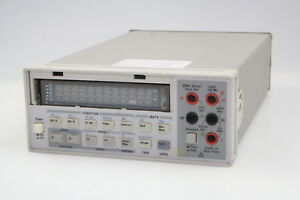 Hp agilent 34401a 6 1 2 Digit Digital Multimeter 3