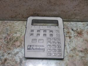 Autobag Hs 100 Excel Keypad Cnc Automated Packaging Bagger Keyboard
