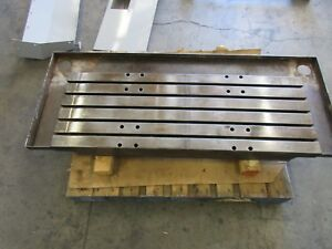 1998 Haas Vf4 Cnc Vertical Mill 18 X 52 Work Table