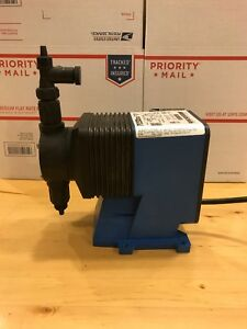 Pulsatron Electronic Metering Pump Le13sa ktc 1 Used Free Shipping