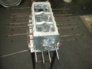 Corvair Engine Block T0114rh 110 Power Glide Degreased All Threads Perfect