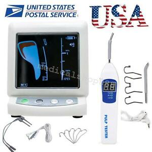 Us Ship Dental Colored Lcd Apex Locator Root Canal Meter Pulp Tester Teeth Nerve