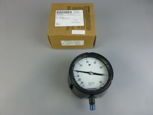 Ashcroft 4 1 2 30 0 60 Psi Pressure Gauge 45 1279 as 02l 30imv