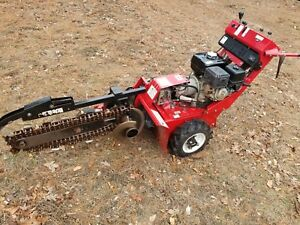 Barreto 912hm Walk Behind Trencher 36 Hydro Honda Commercial Engine