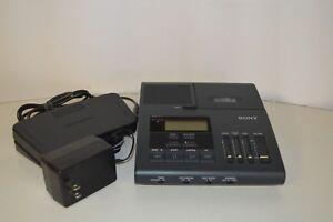 Sony Bm 850 Dictator transcriber With Foot Pedal And Power Supply