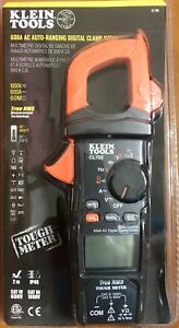 Klein Tools 600a Ac Auto ranging Digital Clamp Meter Cl700 New Free Shipping