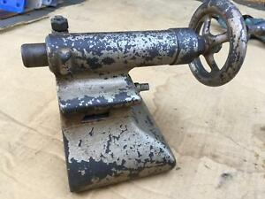 Tailstock Wf John Barnes 5 Metal Cutting Lathe 11 Foot Pedal Power 1890 1900