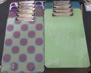 Lot Of 9 New Retired Full Size Scentsy Clip Boards Clipboards Consultant Tools