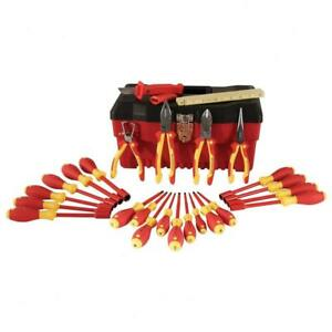 Wiha 32879 25 piece 1000 volt Insulated Tool Set