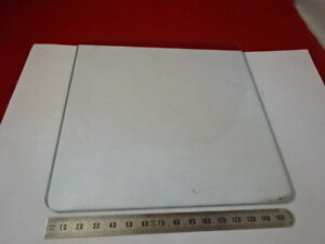 Glass Plate Stage Specimen Table Leitz Germany Microscope Part As Is