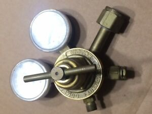 New Brass Acetylene Regulator Gauge Welding Gas Harris Victor Type Torch Crg 540