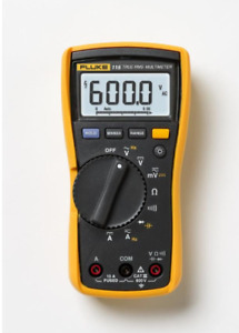 Digital Electrical Testing Amp Clamp Test Meter 600 volt Multimeter Fluke