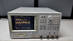 Agilent 4395a 500mhz Network spectrum impedance Analyzer W opt 1d5 1d6 tested