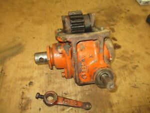 Allis Chalmers Wc Used Working Pto Drive Gear Box Assembly Antique Tractor