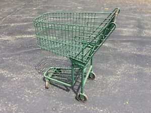 Vintage Early Grocery Store Shopping Cart Early To Mid 1940 s Local Pickup