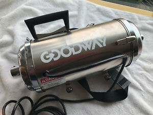Goodway Cvc 100 Dry Abatement Dust Particle Hepa Cleaner vacuum Only No Parts