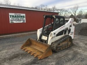 2016 Bobcat T590 Compact Track Skid Steer Loader W Only 1400hrs Coming Soon