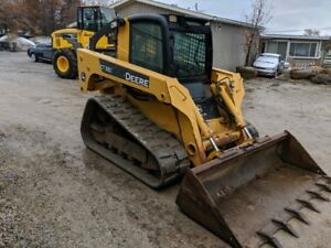 John Deere Ct332 Track Skid Steer Loader 2123 Hours