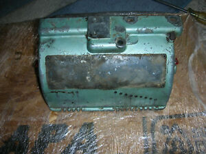 Rare Atlas 10 Inch Lathe Quick Change Gearbox Case 10 1501 Excellent Used