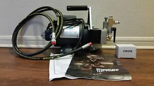 Nib Wheeler Rex Hydrostatic Test Pump Model 39300 300psi 4gpm