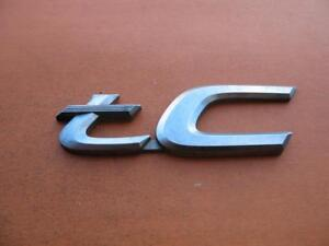 11 12 13 14 15 16 Scion Tc Rear Trunk Lid Emblem Logo Badge Sign Symbol Oem 12