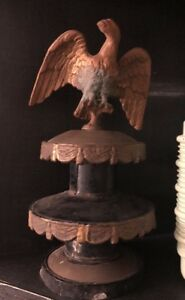 Vintage American Eagle Architectural Finial Tiered Topper
