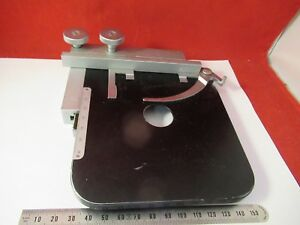 Leitz Germany Stage Table Specimen Microscope Part As Pictured 39 a 07a